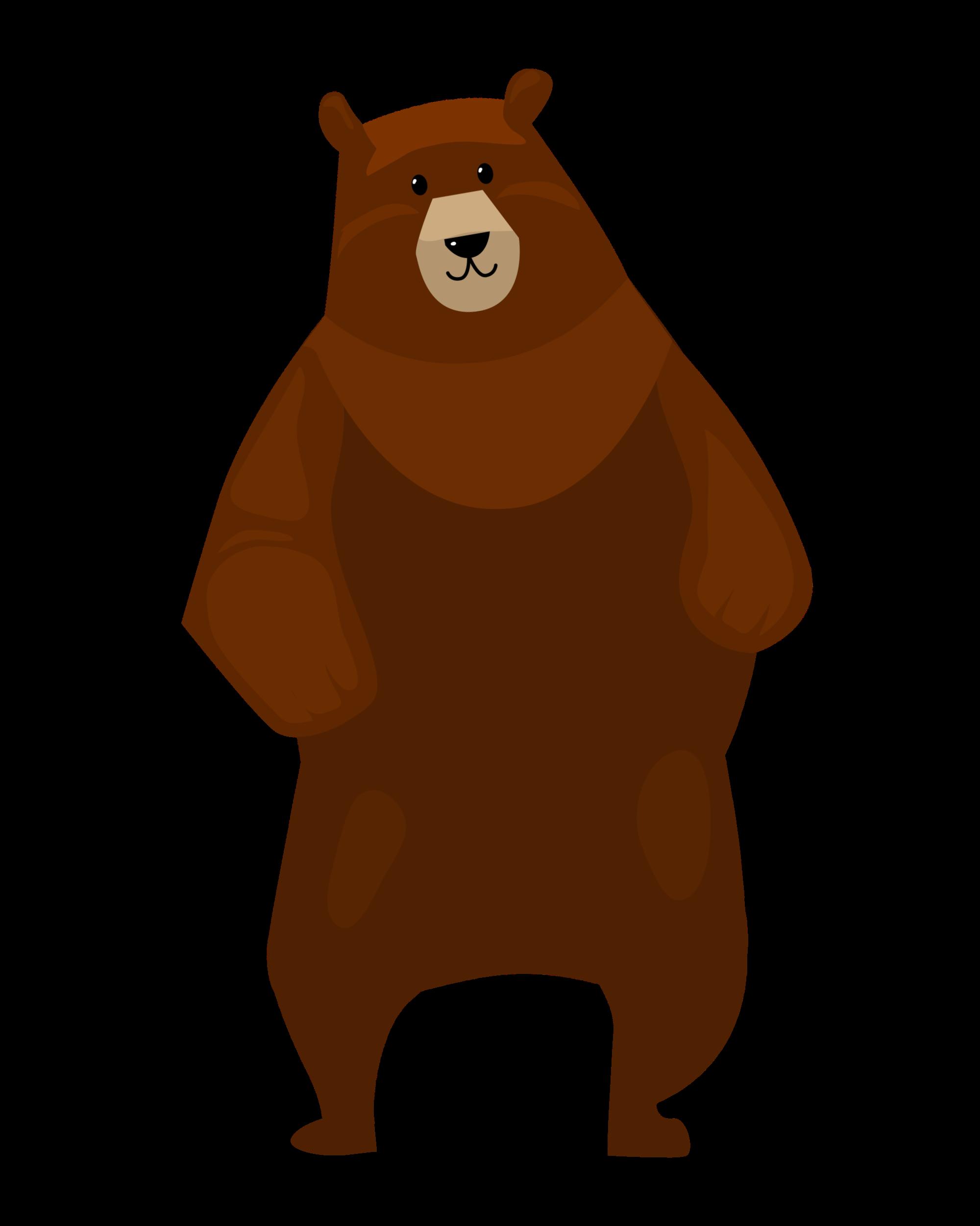 Brauner Tanzbär